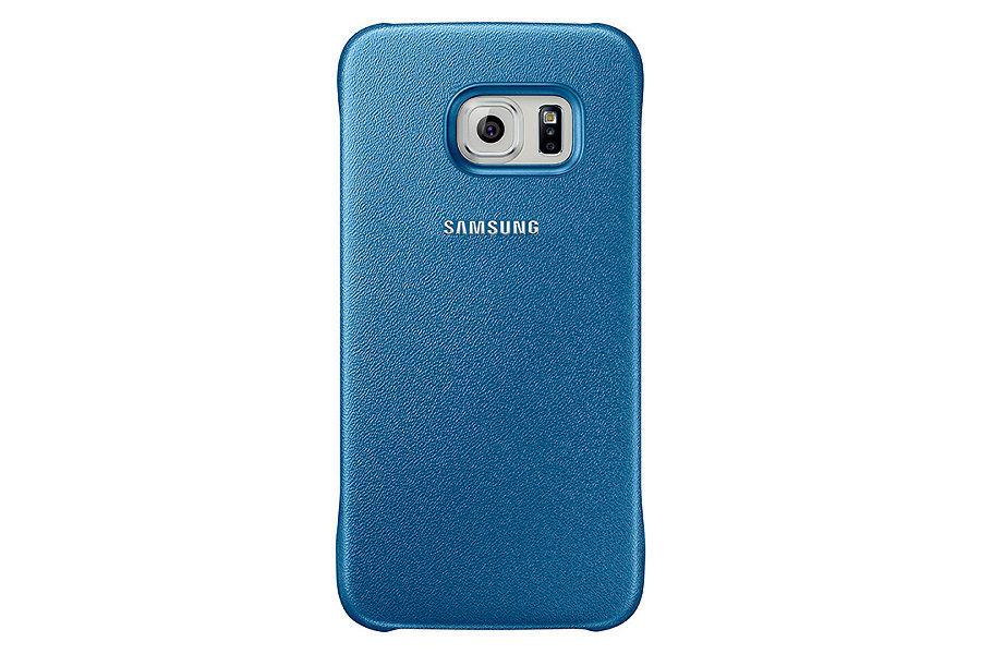 Чехол (клип-кейс) SAMSUNG Protective Cover, для Samsung Galaxy S6, голубой [ef-yg920blegru]