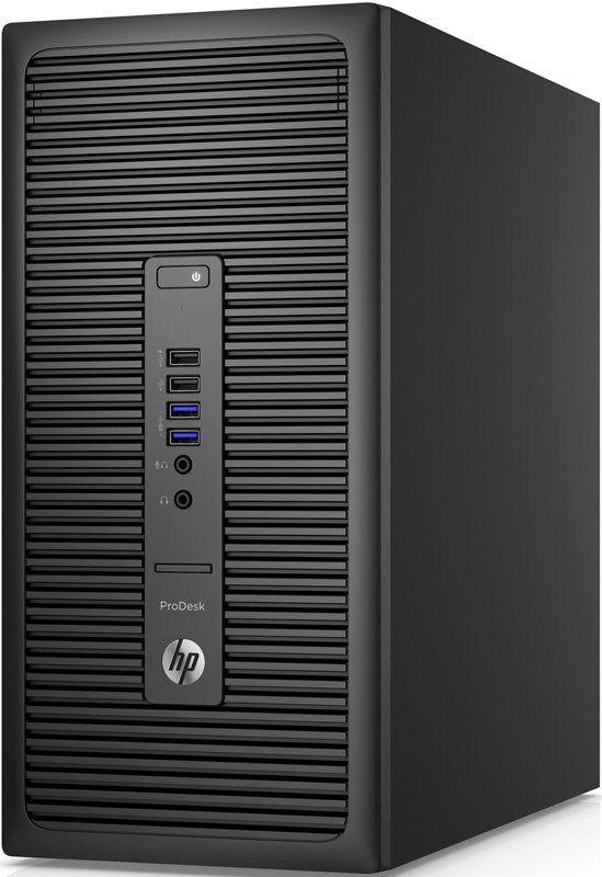 Компьютер  HP EliteDesk 800 G2,  Intel  Core i3  6100,  DDR4 4Гб, 500Гб,  Intel HD Graphics 530,  DVD-RW,  Windows 7 Professional,  черный [t4j48ea]