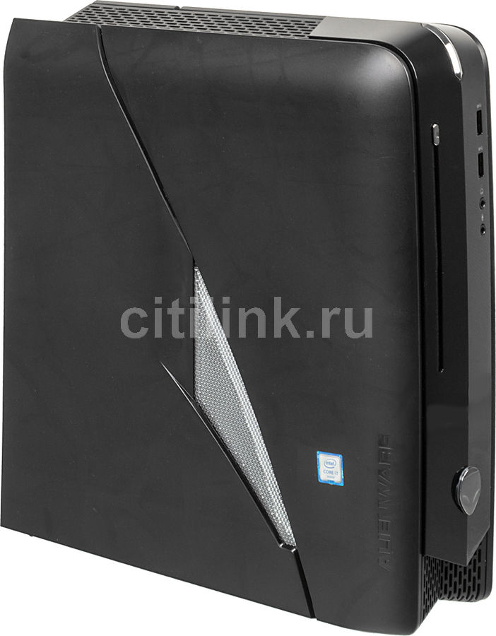 Компьютер  DELL Alienware X51 R3,  Intel  Core i7  6700,  DDR4 8Гб, 2Тб,  nVIDIA GeForce GTX 960 - 2048 Мб,  DVD-RW,  Windows 10 Home,  черный [r3-9701]