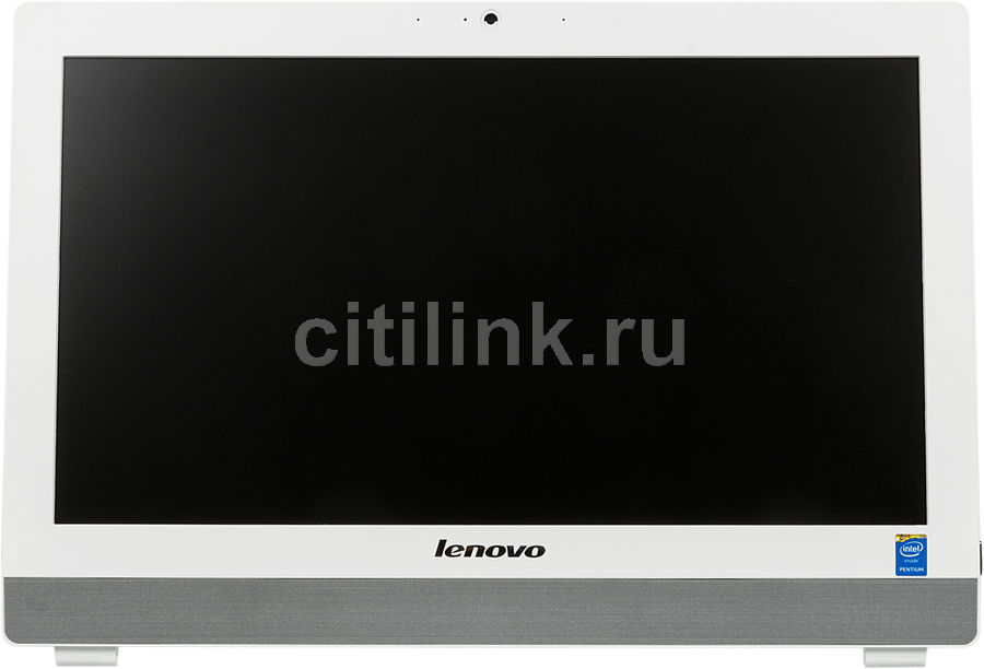 Моноблок LENOVO S20-00, Intel Pentium J2900, 4Гб, 500Гб, Intel HD Graphics, DVD-RW, Free DOS, белый [f0ay009rrk]