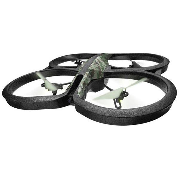 Квадрокоптер PARROT AR.Drone 2.0 Elite Edition с камерой,  камуфляж лесной [pf721822]