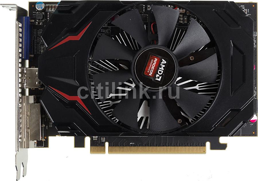 Видеокарта POWERCOLOR Radeon R7 250,  AXR7 250 1GBD5-HV4E/OC,  1Гб, GDDR5, OC,  oem [axr7 250 1gbd5-hv4e/oc bulk]