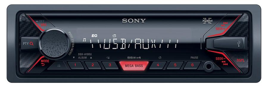 Автомагнитола SONY DSX-A100U,  USB