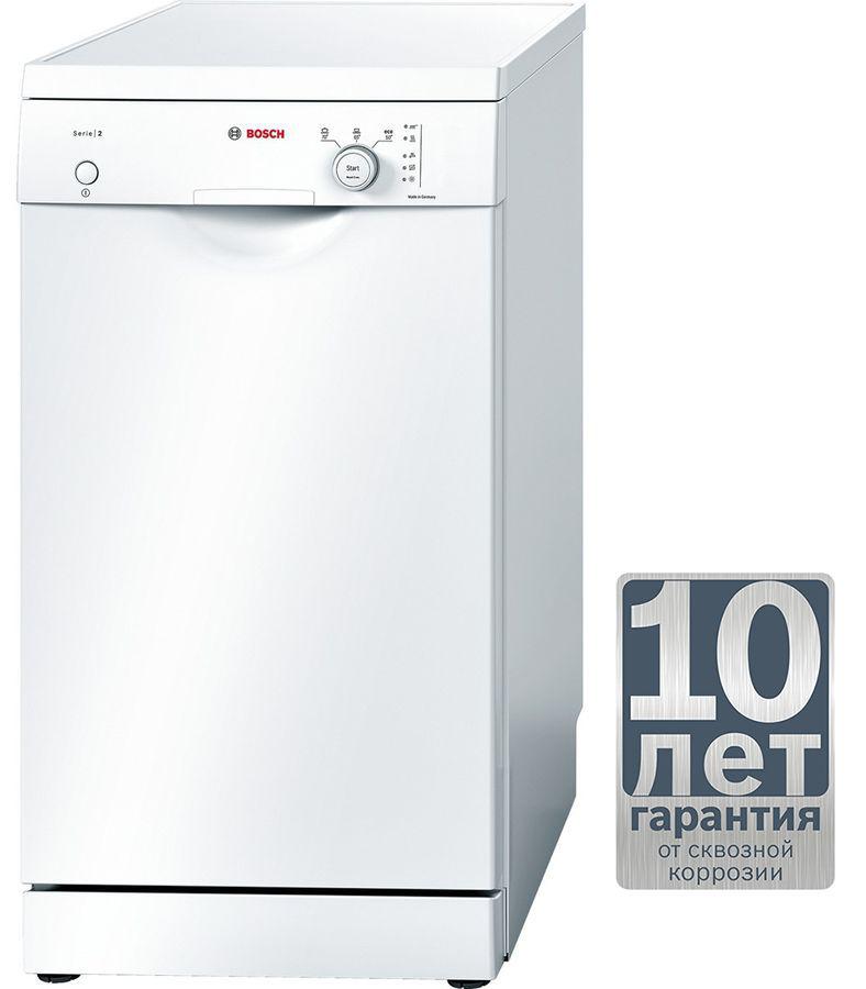 Посудомоечная машина BOSCH SPS30E02RU,  узкая, белая