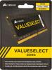 Модуль памяти CORSAIR CMSO4GX4M1A2133C15 DDR4 -  4Гб 2133, SO-DIMM,  Ret вид 1