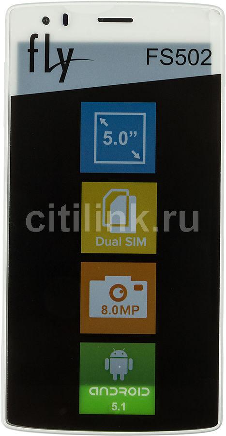 Смартфон FLY Cirrus 1 FS502,  белый