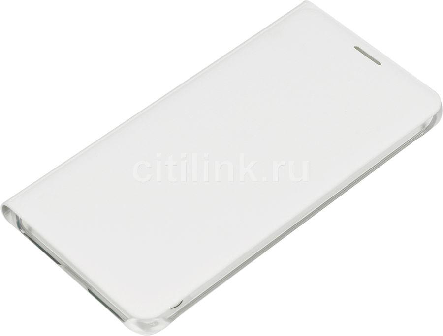 Чехол (клип-кейс) SAMSUNG Flip Wallet, для Samsung Galaxy A7 (2016), белый [ef-wa710pwegru]