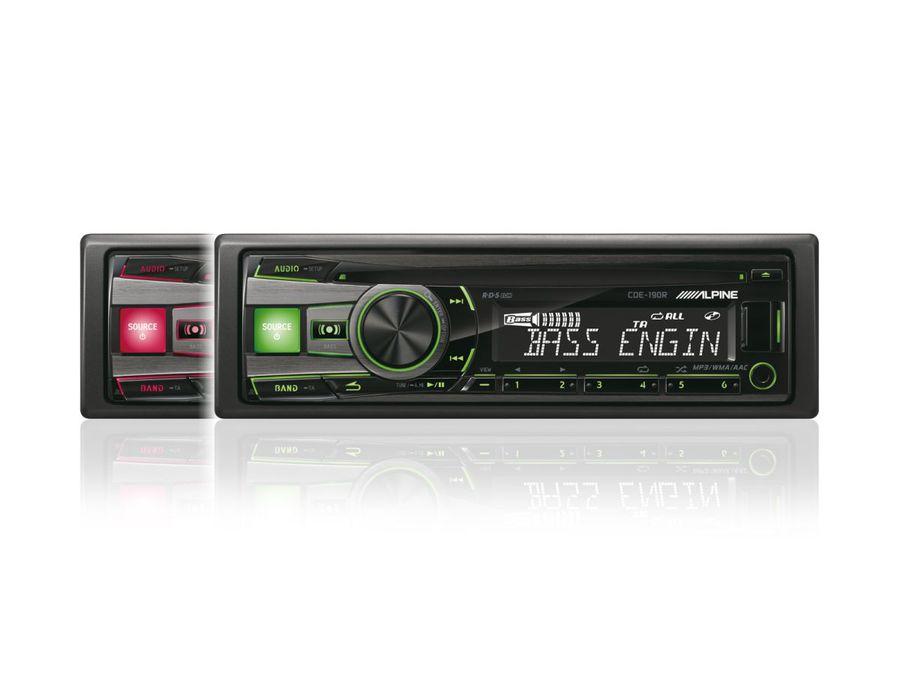 Автомагнитола ALPINE CDE-190R,  USB