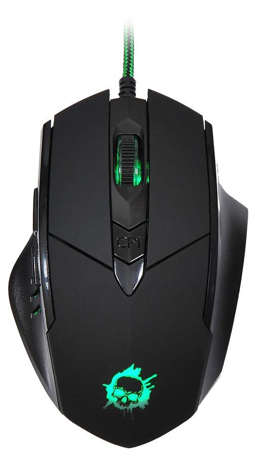 Мышь OKLICK 815G INFERNO оптическая проводная USB, черный [gm18]