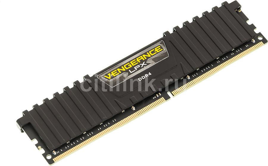 Модуль памяти CORSAIR Vengeance LPX CMK16GX4M1A2400C14 DDR4 -  16Гб 2400, DIMM,  Ret
