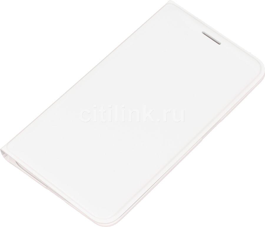 Чехол (флип-кейс) SAMSUNG EF-WJ120P, для Samsung Galaxy J1(2016), белый [ef-wj120pwegru]