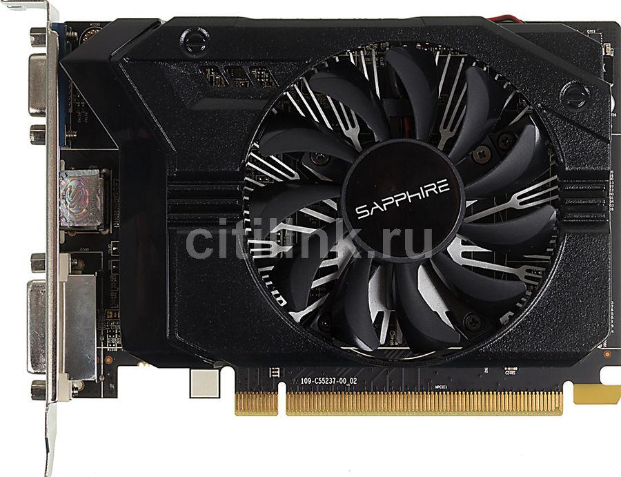 Видеокарта SAPPHIRE Radeon R7 250,  11215-21-10G,  2Гб, GDDR3, OC,  oem