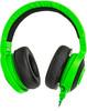 Наушники с микрофоном RAZER Kraken Pro 2015, зеленый / черный