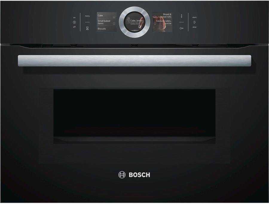 Духовой шкаф BOSCH CMG6764B1,  черный