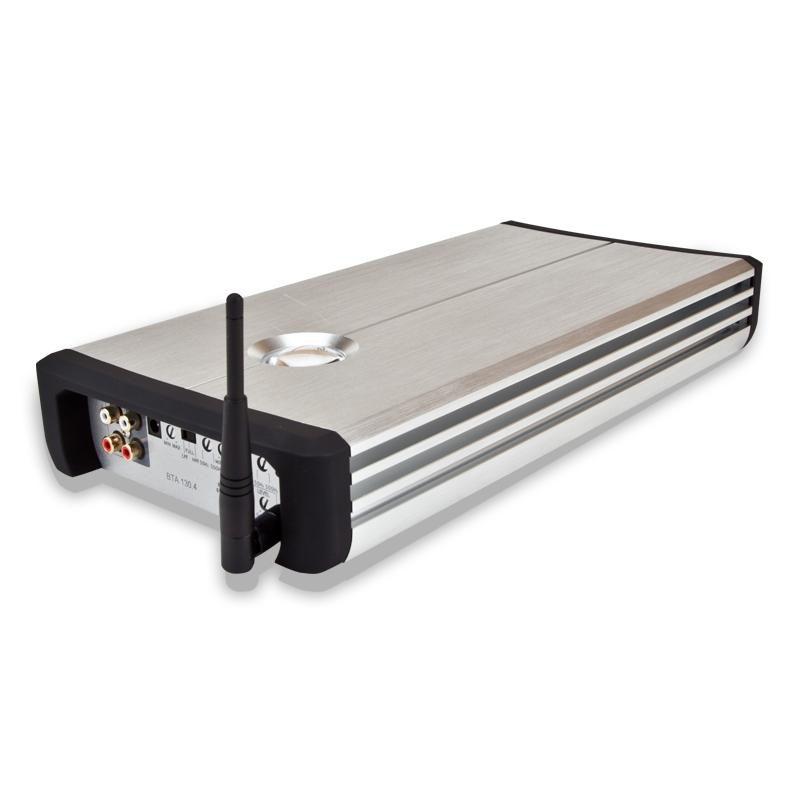 Усилитель автомобильный KICX BTA 130.4,  серебристый