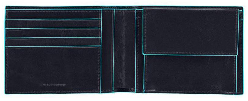 Кошелек мужской Piquadro Edge PU257ED/BLU синий натур.кожа