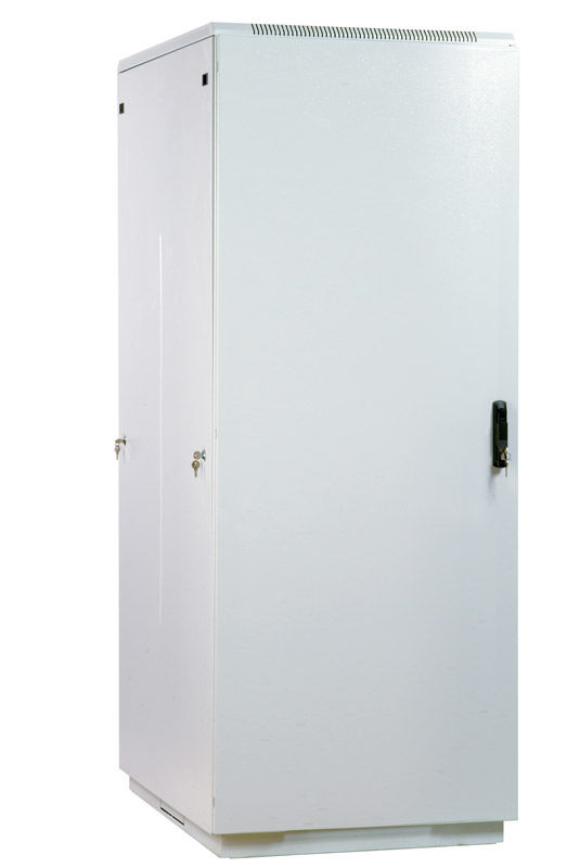 Шкаф коммутационный ЦМО (ШТК-М-42.8.10-3ААА) 42U 800x1000мм пер.дв.металл задн.дв.стал.лист 2 бок.па