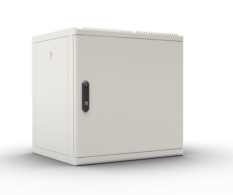 Шкаф коммутационный ЦМО (ШРН-М-12.500.1) 12U 600x456мм пер.дв.металл 50кг серый
