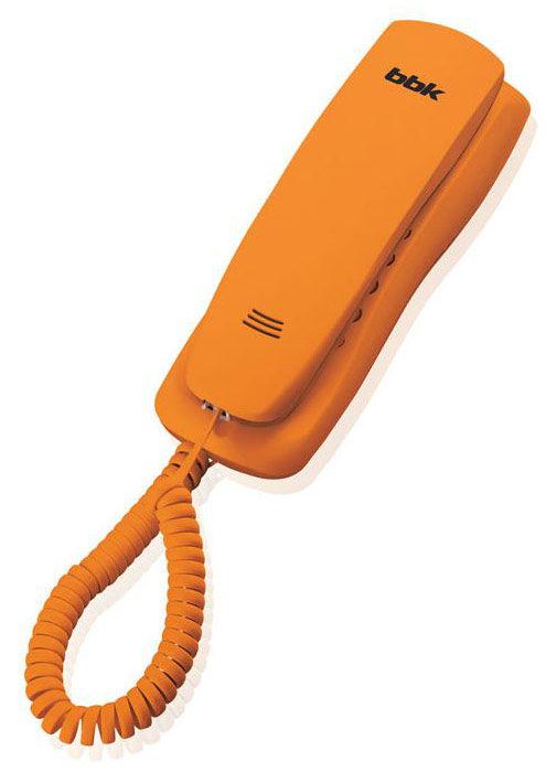 Проводной телефон BBK BKT-105 RU, оранжевый
