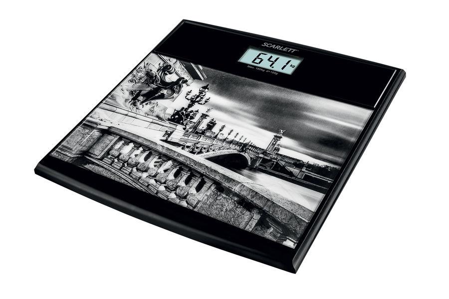 Напольные весы SCARLETT SC-BS33E063, до 180кг, цвет: рисунок [sc - bs33e063]
