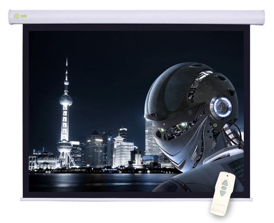 Экран CACTUS Motoscreen CS-PSM-124x221,  221х124.5 см, 16:9,  настенно-потолочный