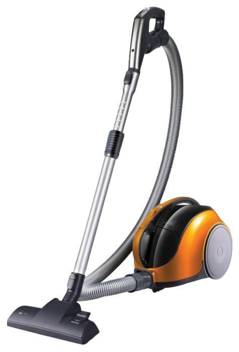 Пылесос LG VK74W25H, 1400Вт, оранжевый