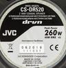Колонки автомобильные JVC CS-DR520,  коаксиальные,  260Вт,  комплект 2 шт. вид 4