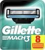 Сменные кассеты для бритья GILLETTE Mach3,  8 шт. [81540660] вид 1
