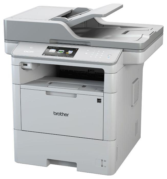 МФУ BROTHER DCP-L6600DW,  A4,  лазерный,  серый [dcpl6600dwr1]