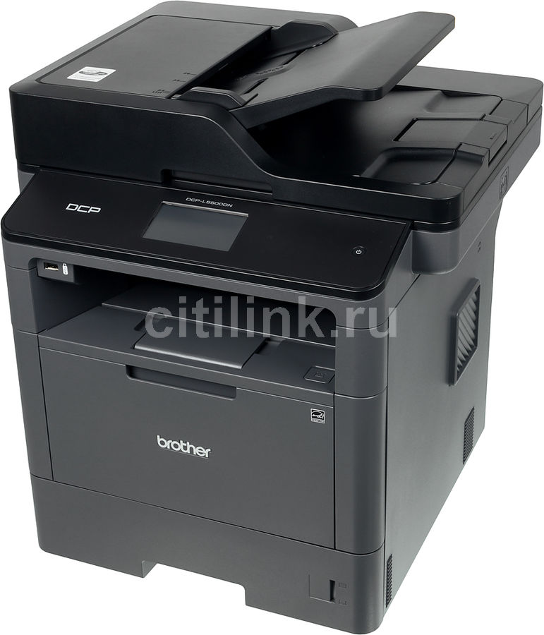 МФУ лазерный BROTHER DCP-L5500DN,  A4,  лазерный,  черный [dcpl5500dnr1]