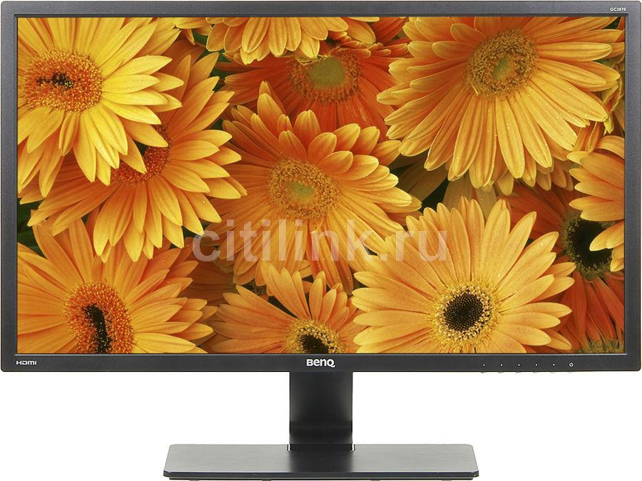 """Монитор Benq 28"""" GC2870H черный VA LED 16:9 HDMI Mat 300cd (отремонтированный)"""