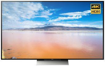 """LED телевизор SONY KD55XD9305BR2  55"""", 3D,  Ultra HD 4K (2160p),  черный/ серебристый"""