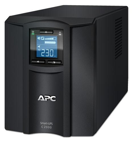 Источник бесперебойного питания APC Smart-UPS C SMC2000I-W5Y,  2000ВA