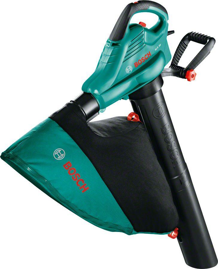 Воздуходувка-пылесос BOSCH ALS 30, зеленый