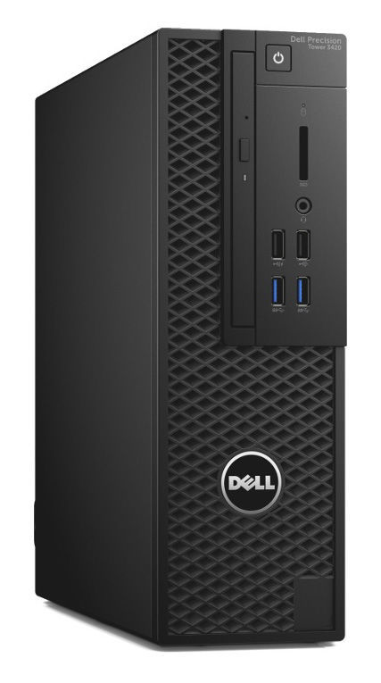 Компьютер  DELL Precision T3420,  Intel  Xeon  E3-1220 v5,  DDR4 8Гб, 1000Гб,  256Гб(SSD),  nVIDIA Quadro K1200 - 4096 Мб,  DVD-RW,  Windows 7 Professional,  черный [3420-9501]
