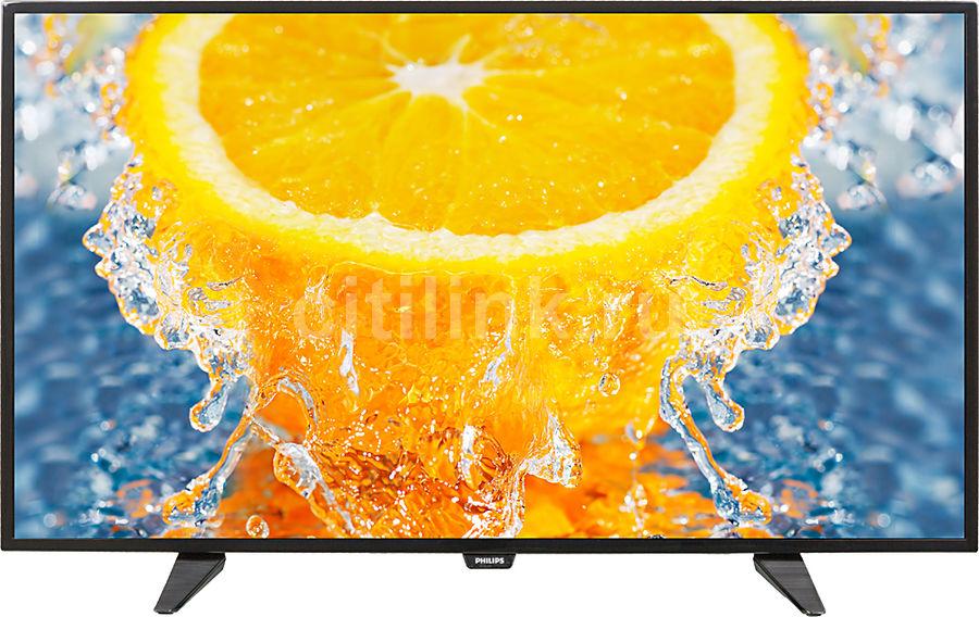 "Телевизор LED Philips 40"" 40PFT4101/60 черный/FULL HD/200Hz/DVB-T/DVB-T2/DVB-C/USB (отремонтированный)"