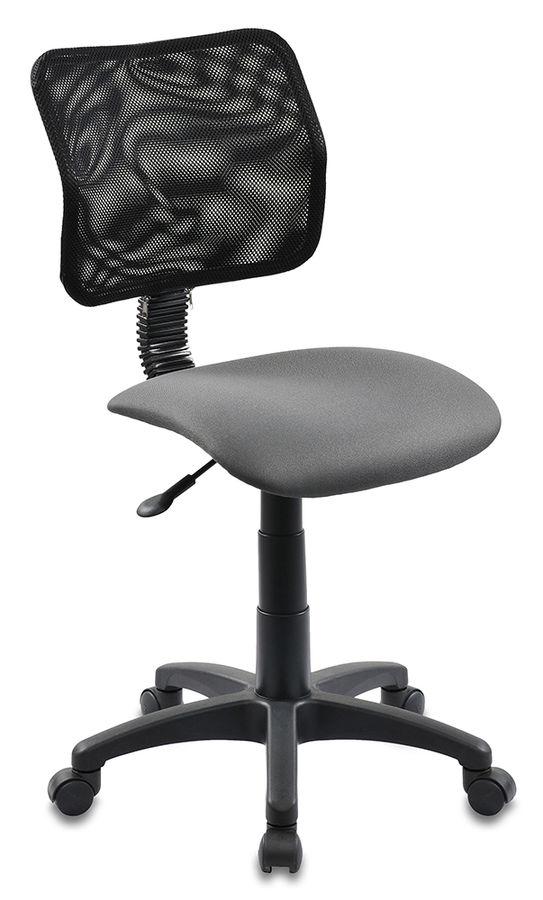 Кресло БЮРОКРАТ CH-295, на колесиках, ткань, серый [ch-295/15-13]