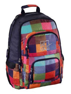 Рюкзак All Out Louth Sunshine Check черный/розовый/голубой/зеленый [00129480]