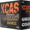 Блок питания AEROCOOL KCAS-800W,  800Вт,  120мм,  черный, retail вид 6