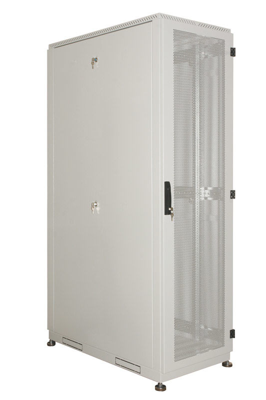 Шкаф серверный ЦМО (ШТК-С-33.6.10-44АА) 33U 600x1000мм пер.дв.перфор. 2 бок.пан. 1000кг серый