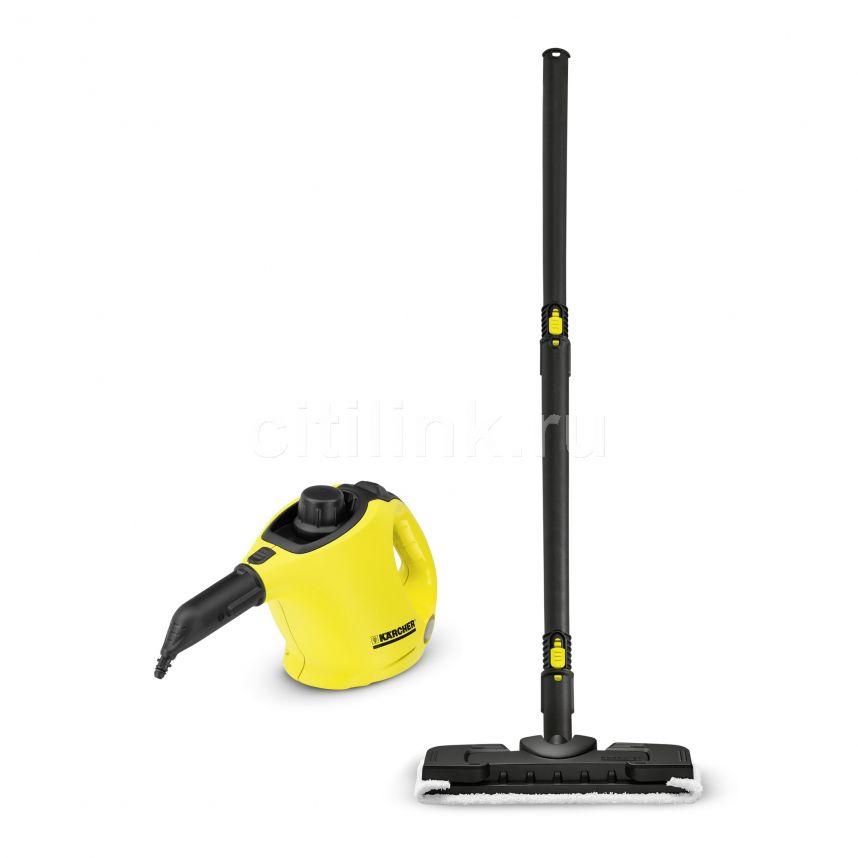 Парогенератор KARCHER SC 1 + Floorkit EU-II,  желтый/черный [15162710]