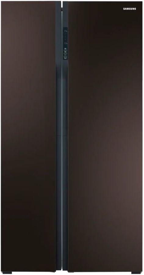 Холодильник SAMSUNG RS552NRUA9M,  двухкамерный,  винное стекло [rs552nrua9m/wt]