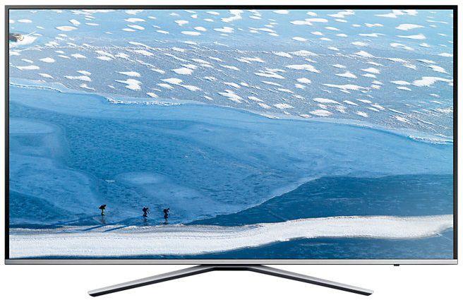 "LED телевизор SAMSUNG UE43KU6400UXRU  ""R"", 43"", Ultra HD 4K (2160p),  серебристый"