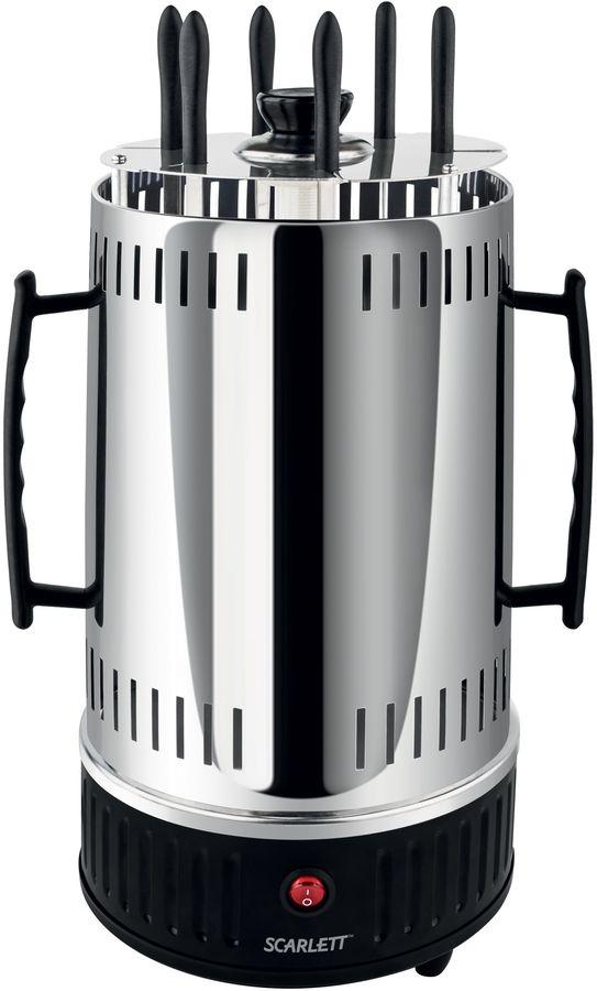 Шашлычница электрическая Scarlett SC-KG22601 1000Вт черный [sc - kg22601]