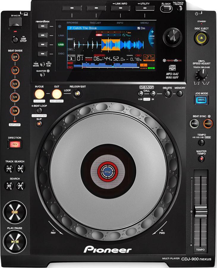 Музыкальный пульт PIONEER CDJ-900NXS