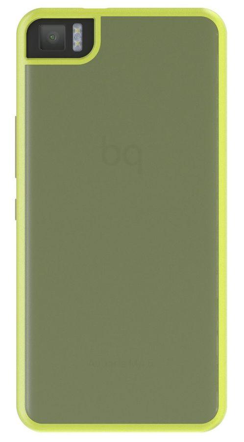 Чехол (клип-кейс) BQ Gummy, для BQ Aquaris M4.5, лайм [e000578]