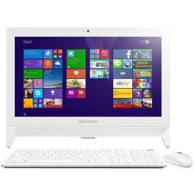 Моноблок LENOVO C20-00, Intel Celeron J3060, 4Гб, 500Гб, Intel HD Graphics 400, DVD-RW, Free DOS, белый [f0bb00rmrk]