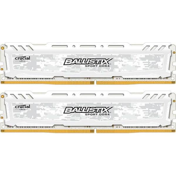 Модуль памяти CRUCIAL Ballistix Sport LT BLS2C16G4D240FSC DDR4 -  2x 16Гб 2400, DIMM,  Ret