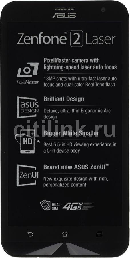 """Смартфон Asus ZE550KL ZenFone 2 Laser 32Gb белый моноблок 3G 4G 2Sim 5.5"""" 720x1280 (отремонтированный)"""
