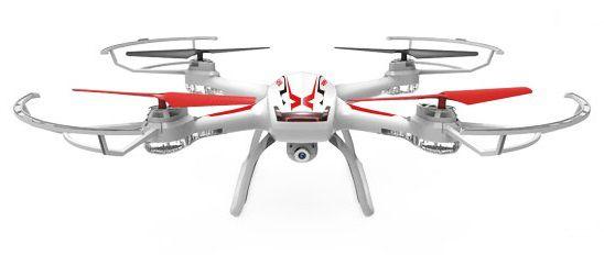Квадрокоптер SYMA X54HW с камерой,  белый [x54hw white]